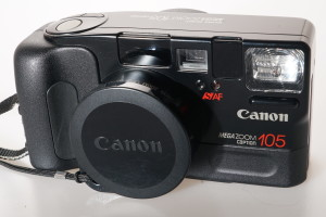 Canon Sureshot Mega Zoom 105 Caption in Case