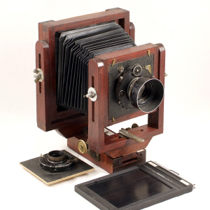 Hand Made Wooden 5x4 Field Camera