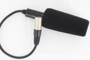 Professional 3-XLR Stereo Video Microphone for Sony/Panasonic Camcorder