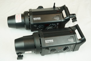 2 Bowens Gemini GM500R Head Kit in Case