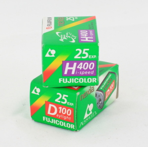 2 x Fujifilm Color APS Films