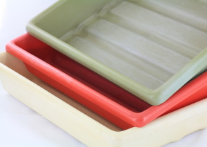 Set of 3 10x8 inch Developing Trays/Dishes