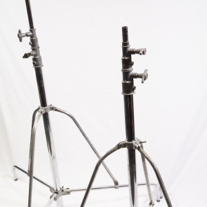 2 x Mole & Richardson lighting stands circa 1950's (Hire Only)