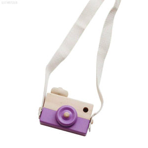Wooden Camera Toy (Purple) Brand New childrens toy