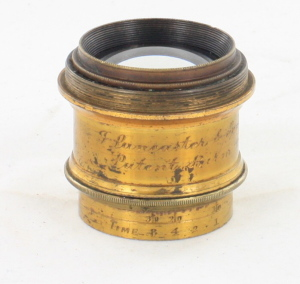 Brass Lens made by J Lancaster & Sons (Birmingham)
