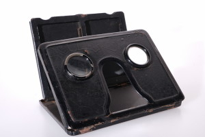 Metal Folding Stereo Viewer 1930's