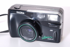 Halina Vision XMS/Z 35mm Zoom Camera, Case & Boxed