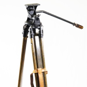 Large Wooden Tripod for Movie / Large Format Cameras c1950's (Hire Only)