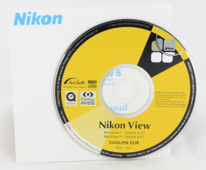 Nikon View 6 on CD's for Windows & Mac