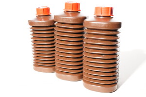 3x 1 Litre Collapsible Bottles for Photographic Film Developing Chemicals Storage