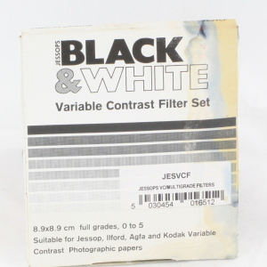 Jessops Black & White Variable Contrast Filter Set