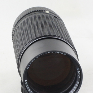 Pentax SMC Pentax-M 200mm f/4 Telephoto MF Lens PK K mount