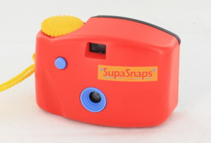SupaSnaps Red Blue & Yellow 126 Camera