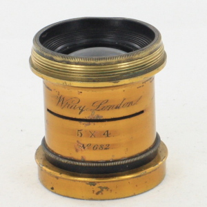 Wray London 5x4 Brass Lens