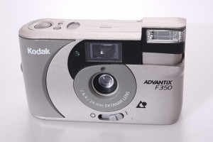 Kodak Advantix F350 APS camera in case