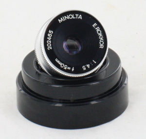 Minolta 50mm F4.5 Rokkor (39mm Mount) Enlarging Lens