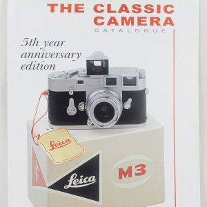 The Classic Camera Catalogue 5th Year Anniversary Edition