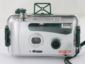 Bosch Compact 35mm camera in underwater housing