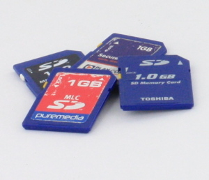 Used 1GB SD Cards (Various Brands/Lucky Dip)