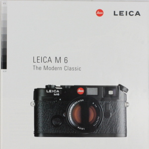 Leica M6 The Modern Classic A4 Brochure