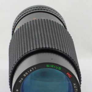 Sirius 60-300mm f4-5.6 MC Canon FD Fit