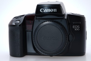 Canon EOS 100 35mm Camera body & Wide Canon Strap