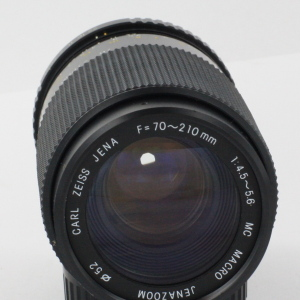 Carl Zeiss Jena 70-210mm f4.5-5.6 Pentax PK lens in Case