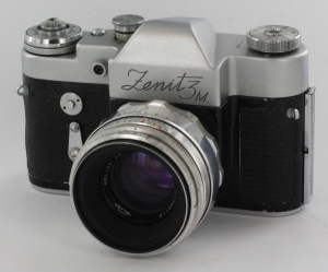 Zenith Zenit 3M 35mm camera c/w 58mm f2 lens, ER Case and boxed