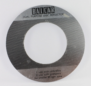 Balcar Dual Purpose Disc Reflector for use with Umbrella
