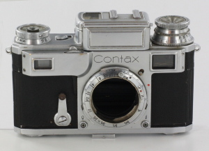 Contax IIIa 35mm Rangefinder camera body (Faulty)