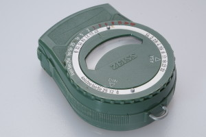 Zeiss Light Meter in Green