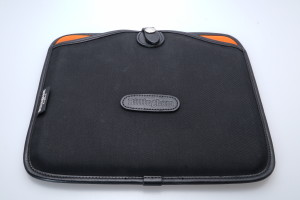Billingham Tablet Slip/Cover for iPAD 1/2/3 Black/Orange