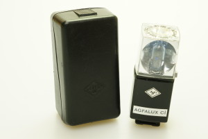 Agfa Agfalux Ci Flashcube holder in case