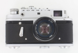 Zorki 4 35mm Rangefinder Camera c/w 53mm f2.8 in case