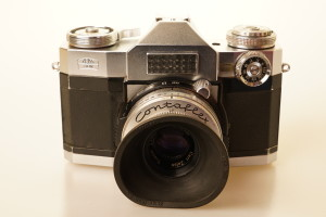 Contaflex Super 35mm Camera c 1960's (Hire Only)