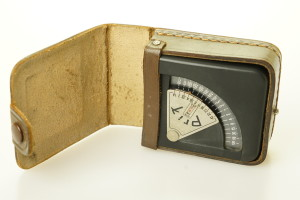 Prix Light Meter in Leather Case