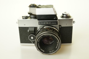 Exakta RTL 1000 c/w 50mm f1.8 Oreston in Case 1969 (Hire Only)