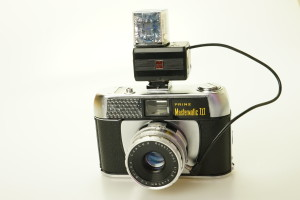 Prinz Mastermatic III 35mm Camera & Flash Cube Flashgun (Hire Only)