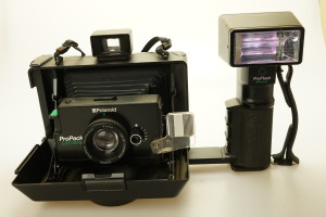 Polaroid ProPack Instant Camera & Flashgun 1990's