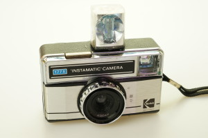 Kodak 177X Instamatic 126 Camera & Cube 1970's (Hire Only)