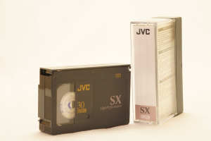 JVC SX VHSC 30m Video Casette in case