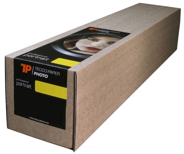 Tecco Production Paper White Film Ultra-Gloss PWF130 Sample Roll 43,2 cm x 3 m
