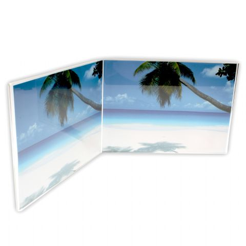 Zep Double Photo Frame 730275 Acrylic Doppie 2x 18x13 cm
